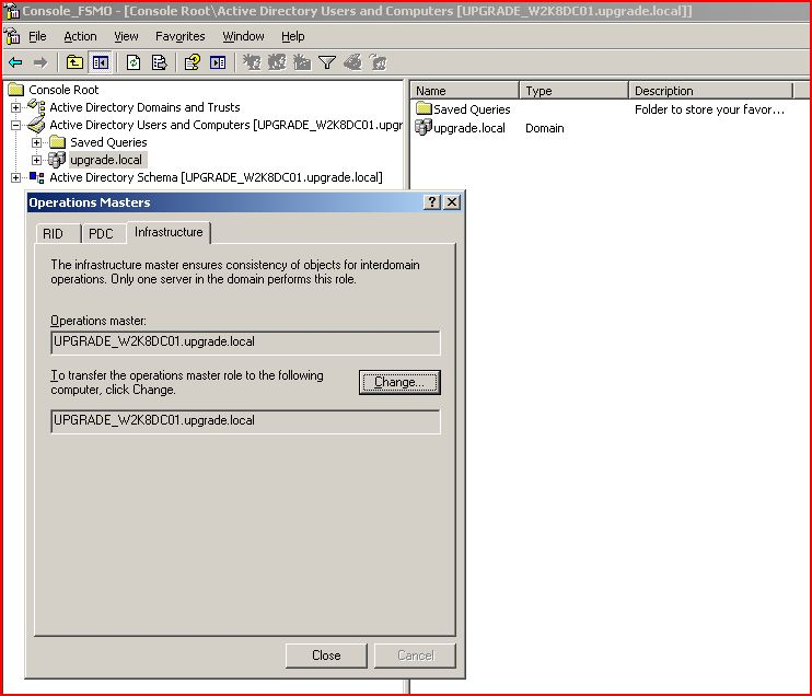 how to change domain name in windows server 2008