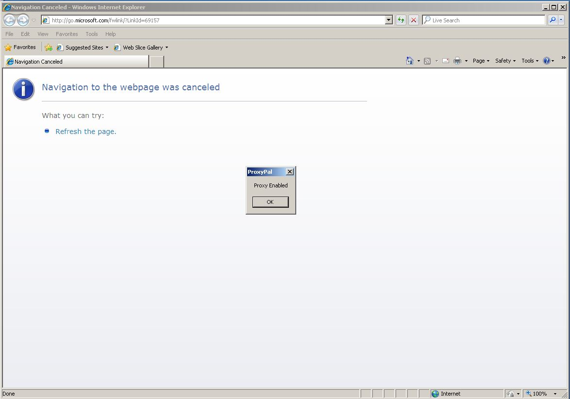 How to disable a proxy server 79