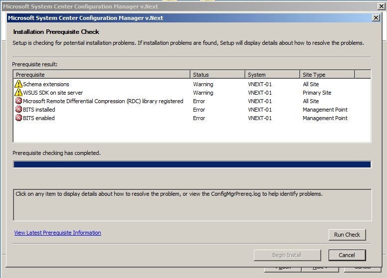 Microsoft SCCM 2007 «