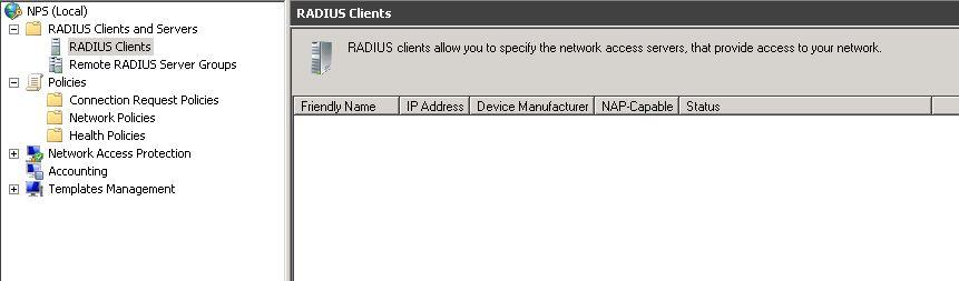 How to: Migratie Windows 2003 RADIUS to Windows 2008 R2 NPS «