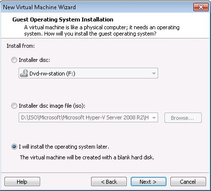 How to: Install Windows Server 2012 in VMware Workstation «