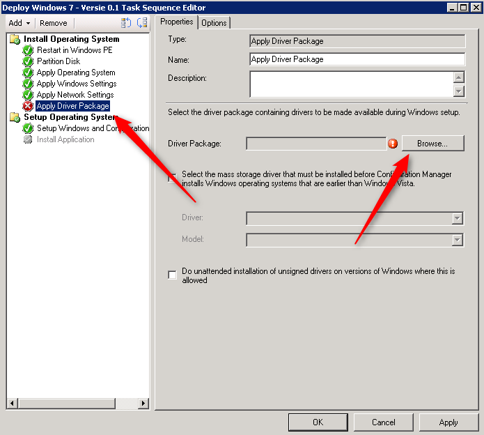 How to: SCCM 2012 and installing drivers by computer model using WMI