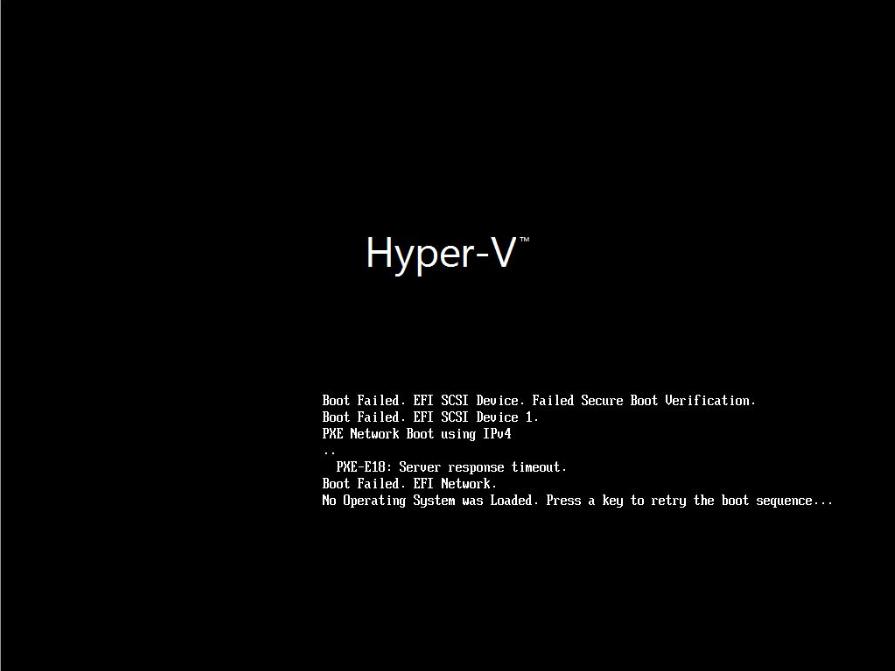Hyper-V: Generation 2 Virtual Machine compatibility error «