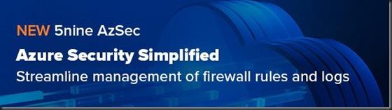 5nine AzSec - Azure Security Simplified