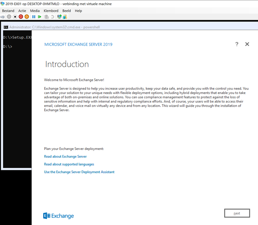 How to: Install Exchange 2019 on Windows Server 2019 Core Edition «